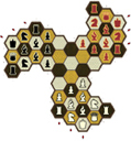 Hexes 3-pawn for 3 players
